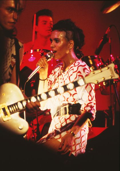 The beautiful Annabella Lwin.. Baby oh noooooooooo