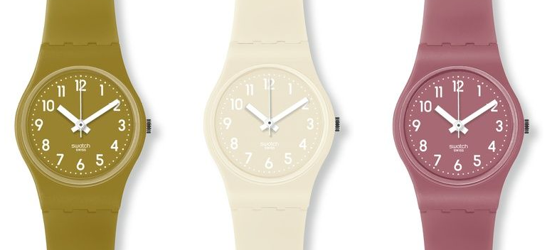 Swatch watch for teens