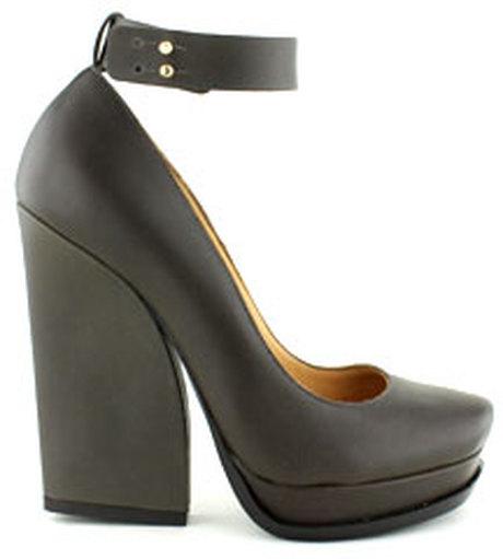 lanvin chunky heel