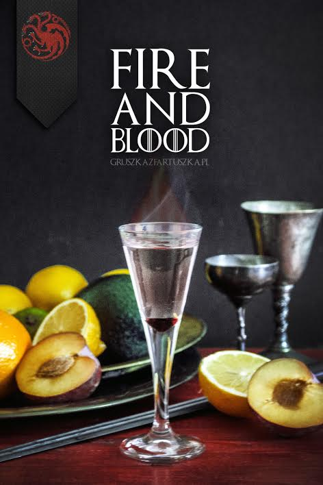 fire and blood drink